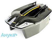Кораблик для прикормки Carpboat Toslon Xboat 730 серо-черный