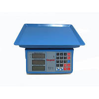 Торговые электронные весы до 40кг Спартак 206 Blue