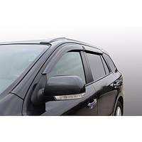 Azard Дефлекторы окон на Hyundai Santa Fe II '06-12 (ПК, накладные)