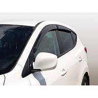 Azard Дефлекторы окон на Hyundai ix35 '10- (ПК, накладные)