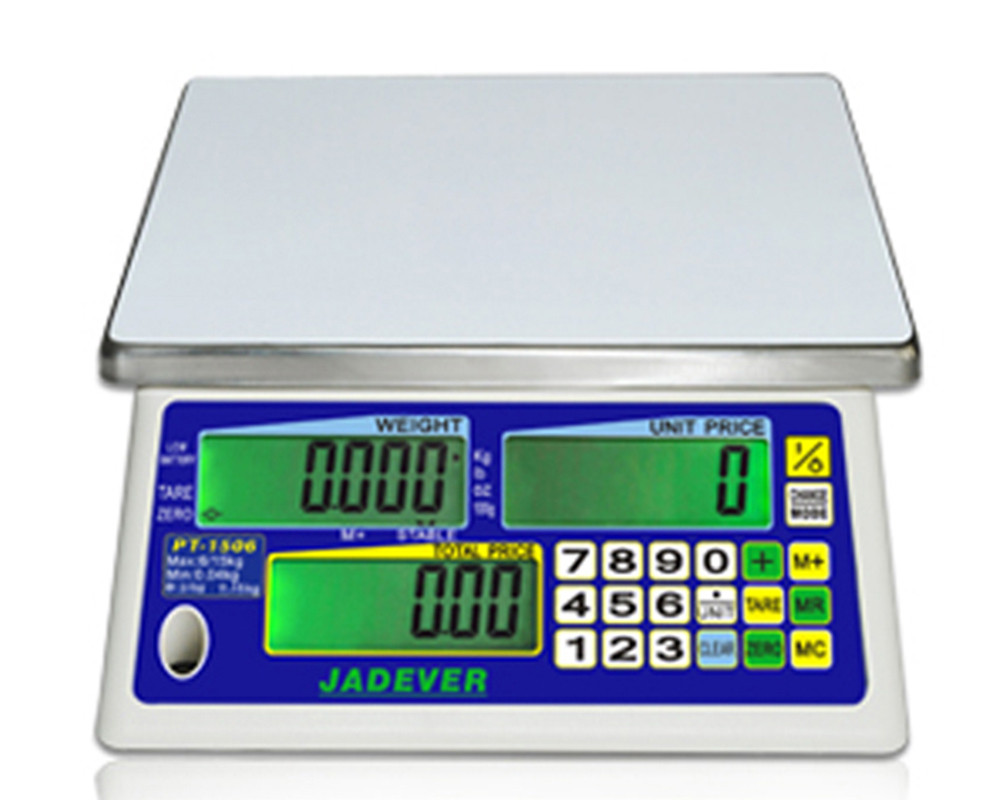 Весы торговые Jadever РТ-1506