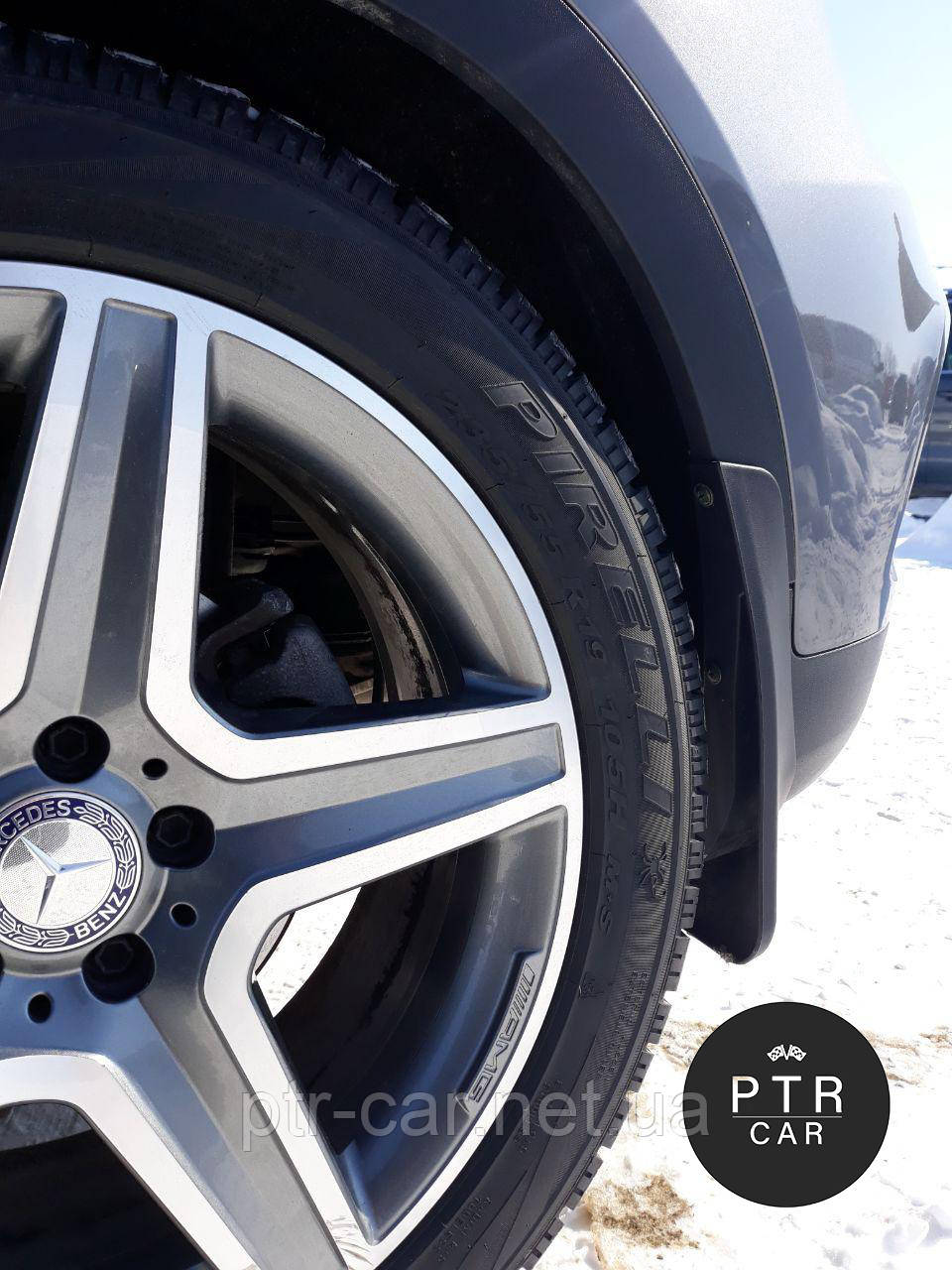 Брызговики Peugeot 2008 2013- (полный кт 4-шт)