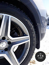 Бризковики Mercedes-Benz ML/GLE 166 (з порогами) 2011-