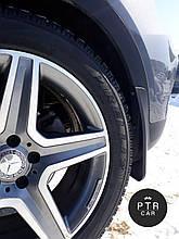 Брызговики Mercedes-Benz GLE SUV AMG (с порогами) 2015-,кт 4шт