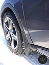 Брызговики BMW X6 (Е71) с порогами 2007-2014 (полный кт 4-шт), кт., фото 4