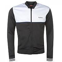 Спортивная куртка Pierre Cardin Full Zip Regular Fit Track Black/White - Оригинал