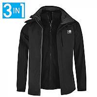 Зимняя куртка Karrimor 3 in 1 Jacket Black - Оригинал