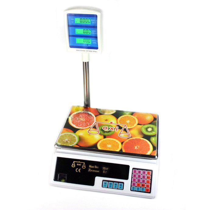 Весы торговые Oxi ACS-D1