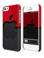 Cases for iphone, Чехол для iPhone 4/4s/5/5s/5с, Apple red and black, правый сектор right sector