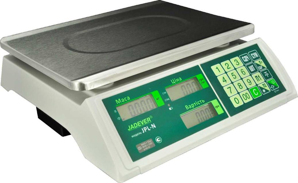 Весы торговые Jadever JPL-N 30 (LCD)