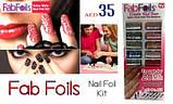 Набор для дизайна ногтей Fab Foils, фото 2