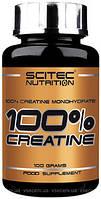 Креатин 100% Creatine monohydrate 100гр Scitec Nutrition креатин