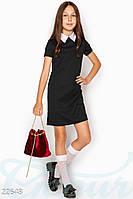 Простое школьное платье