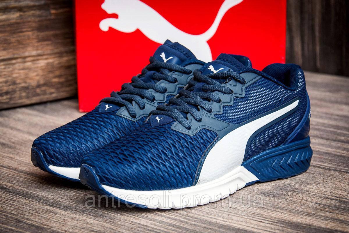 Кроссовки женские Puma Ignite, темно-синие (2549-1),  [   36 37 38 39  ]