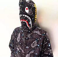 Худи Bape Shark (рефлектив)