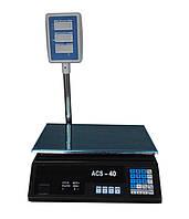 Весы торговые ACS BITEK-D1 (40 кг), фото 1