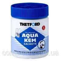Засіб для дезодорації біотуалетів Thetford Aqua Kem Sachets (8710315991482) порошок, 15 пакетиків