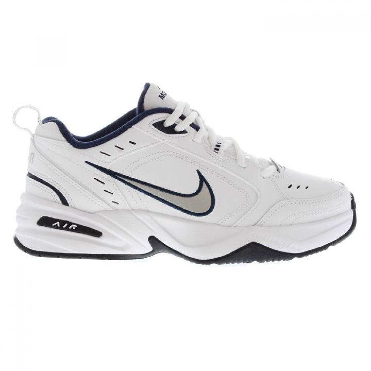 Кроссовки Nike Air Monarch Trainers White Navy - Оригинал - FAIR -  оригинальная одежда и ad8809375d1
