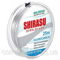 Леска Balzer Shirasu Fluorocarbon (12092 018) 25 м, 9.8 кг, прозорий