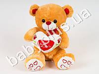 Мягкая игрушка Медведь с сердцем (музыкальный)