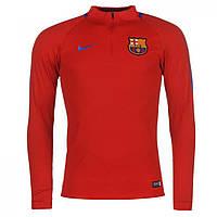 Спортивная кофта Nike Barcelona Drill Top Red - Оригинал