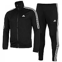 Спортивный костюм Adidas Tiro Poly Black/White - Оригинал