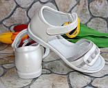 Подростковые белые босоножки  для девочки  фирмы Clibee (36 размер), фото 2