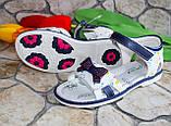 Літні дитячі босоніжки для дівчинки, фото 2