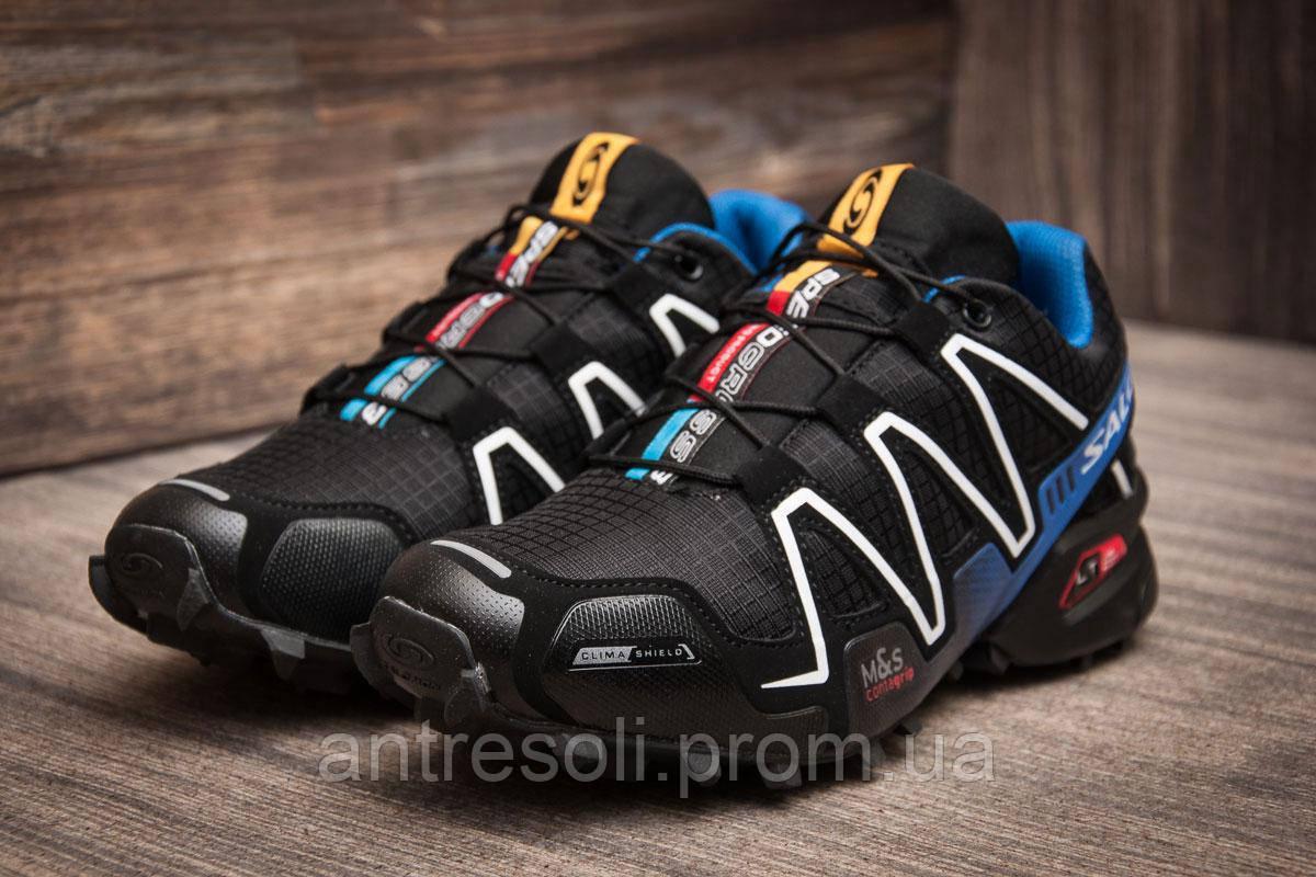 Кроссовки мужские Salomon Speedcross 3, черные (11228),  41 - 45