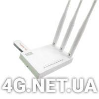 Стационарный 3G/4G WI-FI роутер Netis + Huawei E3372 для Киевстар,Vodafone,Lifecell