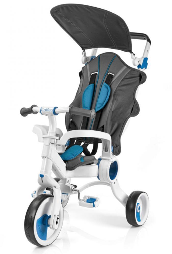 Galileo - Трехколесный велосипед Strollcycle (White & Blue)
