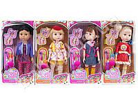 Кукла 31см, аксессуары для волос, 4 вида, в коробке