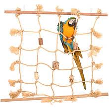 Іграшки для папуги (Канати і мотузки)