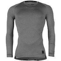 Лонгслив Nike Pro Core Long Sleeve Base Grey - Оригинал
