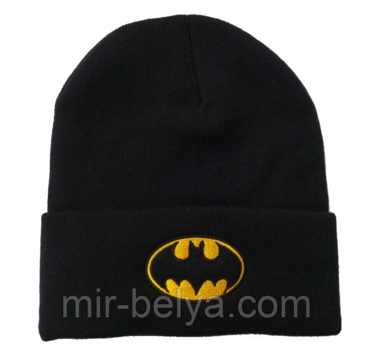 Мужская шапка Бэтмен