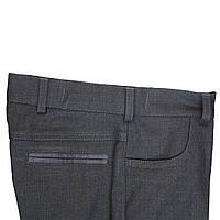 """Школьные брюки для мальчика """"Сицилия"""" черные"""
