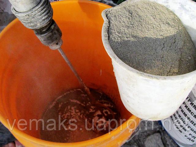 Приготовление мастики для гидроизоляции Стримфлекс