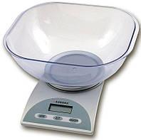 Весы кухонные с чашей 5 кг Aurora AU 309