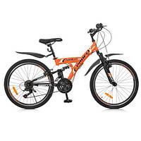 Спортивный велосипед G24GAMBLER S24MIX, сталь