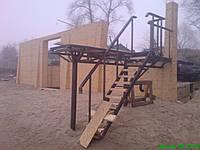 Мостик с лестницей