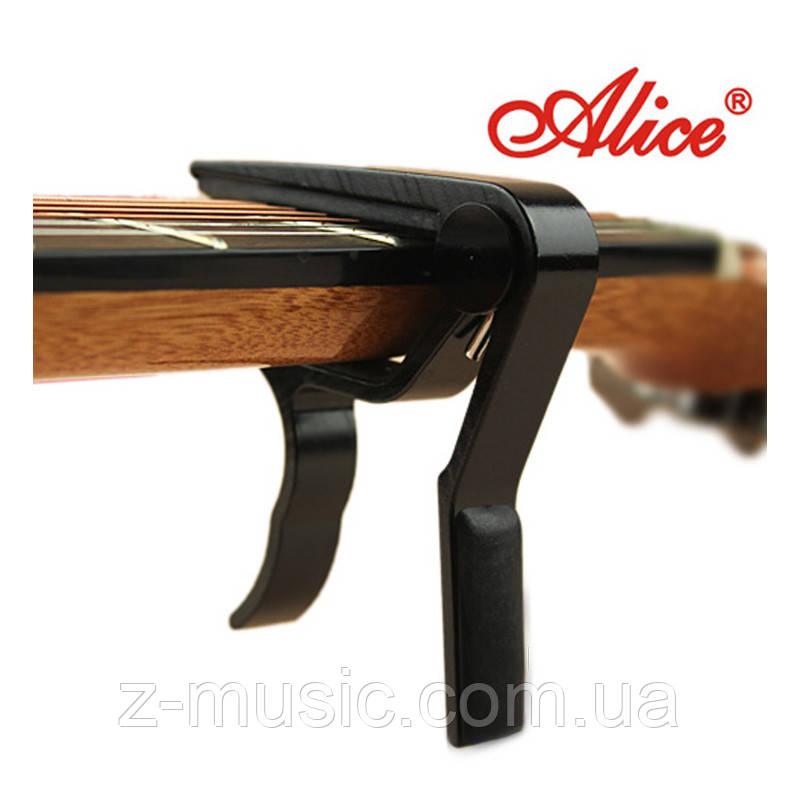 Каподастр для классической гитары Alice A007D/BK-С