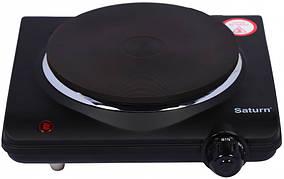 Электрическая плита чугун 1500 Вт Чехия SATURN ST-EC0180 Black
