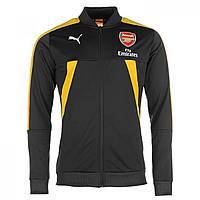 Куртка Puma Arsenal Stadium Jacket 2016 2017 Ebony/Yellow - Оригинал