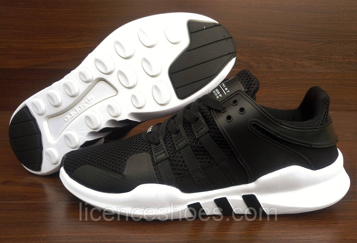 Мужские кроссовки Adidas ADV Equipment White\Black Последняя пара 46 маломерки на ногу 28.5см
