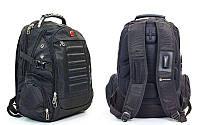 Рюкзак городской VICTORINOX  (PL, р-р 46x31x21см, черный), фото 1