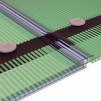 ПВХ и алюминиевые профилиля к поликарбонату
