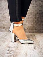 Шикарные туфли Olimpia. Натуральная кожа. Изумительно удобная колодка. Размер в размер. Каблук 10см. Цвет: сер