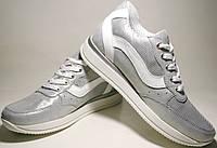 Серебристые кроссовки Avangard - спортивные туфли, фото 1