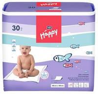 Пеленки детские гигиенические Happy 60x60см, 30 шт.