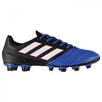 info for 6e0a2 39c11 Бутсы Adidas Ace 17.4 FG Black Wht Blue - Оригинал